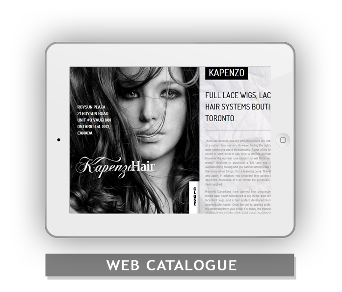 web-catalogue